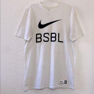 ✅Men Nike BSBL Dri-Fit Tee Shirt Size L